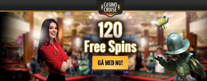 CasinoCruise gratis spinn 2016