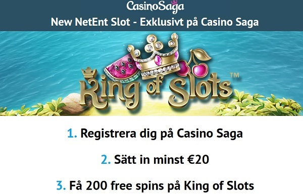 CasinoSaga gratis spinn april 2015